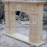Camino di pietra di marmo Mfp-710 dell'oro del deserto del camino del granito
