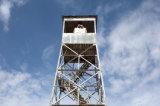 Hot-DIP гальванизированная башня предохранителя ангела 4 ног стальная