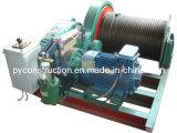 Elektrische Handkurbel 10ton langsam mit hydraulischer Bremse