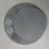 Acciaio inossidabile che tesse la rete metallica sinterizzata per il filtro