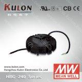 Excitador elevado bom do diodo emissor de luz da luz da baía do excitador Hbg-240 24V 36V 48V 60V do diodo emissor de luz do meio