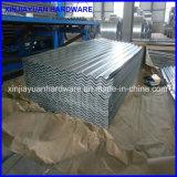 Venta al por mayor acanalada galvanizada sumergida caliente de la hoja del material para techos
