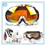 Óculos de proteção do esqui dos vidros de segurança da fabricação de China para a snowboarding