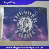 100% знамя флага печатание полного цвета полиэфира изготовленный на заказ, флаг промотирования