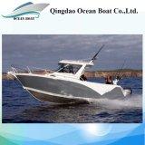 Рыбацкая лодка конструкции 6.85m Австралии All-Welded алюминиевая