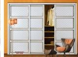 Melamin-Serien-Garderoben-Schiebetür (yg-002)