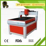 Fuente de la fábrica Ql-1212 que hace publicidad del CNC que talla Rouer con CE