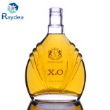 botella de Xo del vidrio de pedernal 700ml con la decoración