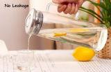 1200ml de hoge Pot van het Water van het Glas Borocilicate