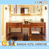 Muebles de encargo del dormitorio del hotel de la talla
