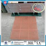 Stuoia di gomma resistente di collegamento variopinta del foro del grasso di Qingdao per le cucine