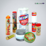 Zoll-faltender verpackenkuchen-Plastiknahrungsmittelkasten