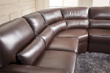 Mobília de couro 657 do sofá de Italy do lazer)