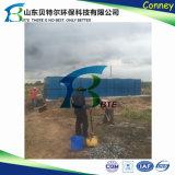 l'usine de traitement des eaux de perte des eaux d'égout 100tpd domestiques, enlèvent la morue, DBO