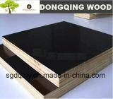 Chapas de madera recubierto de madera Core película con Negro / Castaño Frente