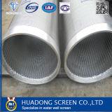 Écran de fil de cale d'écran de fil de cale de puits d'eau d'acier inoxydable pour le perçage bon