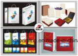 PU-Handtasche mit Packpapier-Folding