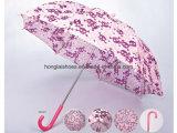 ローズ赤いパターン: 子供の傘