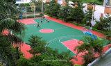 O PVC ao ar livre ostenta o revestimento para o campo de jogos do Badminton/basquetebol