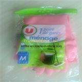 安い価格水平作業手袋は機械包装流れる
