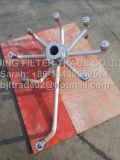 Laterales del eje y de la cabecera del acero inoxidable para el tratamiento de aguas