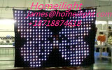 P5cm RGB 3in1 LEIDENE Gordijn van de Visie met het Licht van de Partij/van de Disco/van het Stadium van het Controlemechanisme
