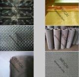 ステンレス鋼の金網か編まれた網