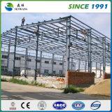 大きく広く大きいプレハブの金属の鉄骨構造の小屋の工場