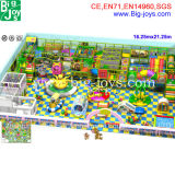 Giant Customize Indoor Playground for Kids, Entertainment Center Children Playground