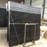 Marmo nero cinese di Marquina di prezzi di alta qualità del rifornimento poco costoso della cava