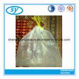 Sacs d'ordures en plastique de cordon de qualité avec le prix usine