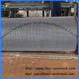 Высокуглеродистая сетка волнистой проволки нержавеющей стали