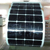 Eficacia alta del fabricante de China por el panel solar semi flexible 100W del vatio