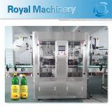 Автоматическая двойная головная машина для прикрепления этикеток втулки Shrink бутылки и крышки