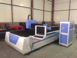 Laser-Ausschnitt-Maschine der Faser-1000W mit SchaltungWorktable