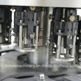 Automatische Glasflasche füllende mit einer Kappe bedeckende Getränk-Flaschenabfüllmaschine des Wein-3 in-1