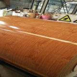 Le petit pin PPGI en bois en couleurs la bobine en acier enduite avec on colorent