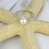 Signora reale d'acqua dolce classica semplice Pearl Ring