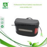 Nachladbare Lithium 10ah 36V E-Fahrrad Batterie mit BMS