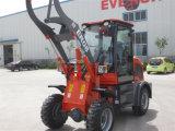 Alimentador de la marca de fábrica Zl08 4WD de Everun mini, material agrícola, 0.8 toneladas Kapazitat, Mit Schnellwechsler