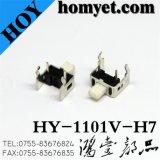 Interruptor do tacto 3*6 (HY-1101V-H7) com carrinho para as auto peças audio