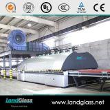 Landglass através da máquina de vidraria Tempered lisa horizontal da fornalha