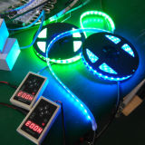 Digital programmabile Full Color LED Strip con 5V Ws2811 CI 60 SMD 5050 (ws2812b)