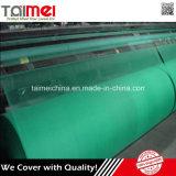 Grüne Farbe einziehbares HDPE landwirtschaftliches Farbton-Tuch