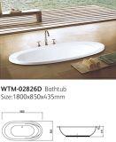 1800 milímetros de gota simples oval na fábrica padrão da banheira