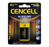 Rauch-Warnungs-alkalische Batterie 9V/6lr61