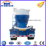 3 차축 38cbm는 Southest 아시아 시장을%s 대량 시멘트 수송 유조선 트레일러를 반 말린다
