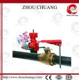 ABS рукоятки модулирующей лампы замыкание клапана одиночного всеобщее (ZC-F31)