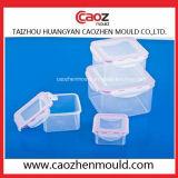 Moulage en plastique de conteneur de blocage de blocage de volume différent