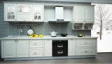 Het pvc Verpakte Ontwerp van de Keuken (zc-021)